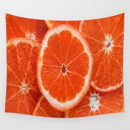 Orange-citrus-slices Wall Tapestry