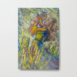 A Mother's Heart Metal Print