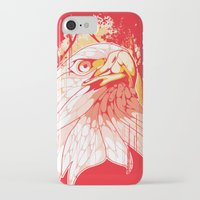 eagle iPhone & iPod Cases featuring Eagle by KUI29