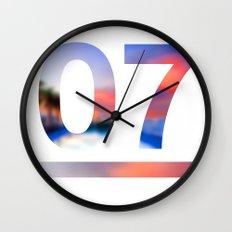 07 Jersey Wall Clock