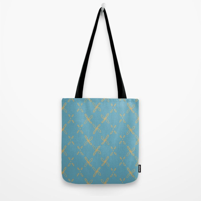 Abstract Astral Pattern Tote Bag