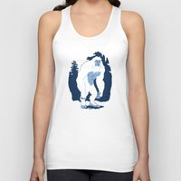 yeti Tank Tops featuring Yeti by Rachel Young