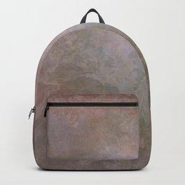 Vintage Soft Sepia Floral Backpack