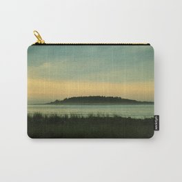 Misty Morning View (Timber Island) Carry-All Pouch