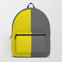 Team Colors 7...yellow, gray, white Backpack
