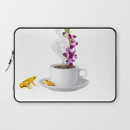 Not a Date Just Coffee Laptop Sleeve
