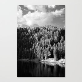Riverside. Canvas Print