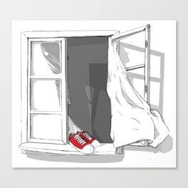 Cover of Psykologisk Tidsskrift: Tabu. (Suicide) Canvas Print