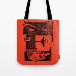 E for evil Tote Bag