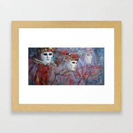 Creatures of the Sea Framed Art Print