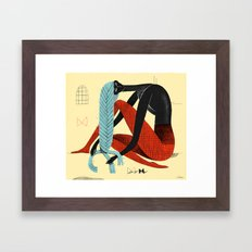 Braid 1 Framed Art Print