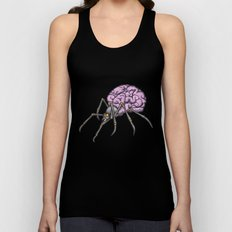 brain spider Unisex Tank Top