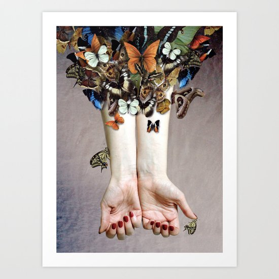 The Butterfly Project (2) Art Print