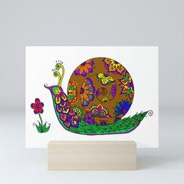 The Garden Snail Mini Art Print