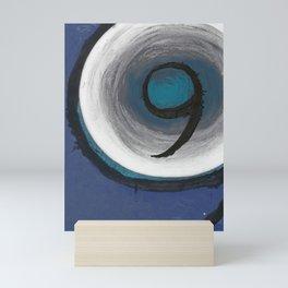 Sapphire Nine Mini Art Print