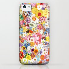 Flowers.2 iPhone 5c Slim Case