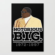 Christopher 'Notorious B.I.G.' Wallace Canvas Print