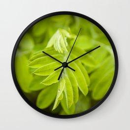 Green Life by Althéa Photo Wall Clock