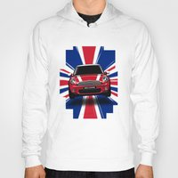 uk Hoodies featuring UK Cooper by McGrathDesigns
