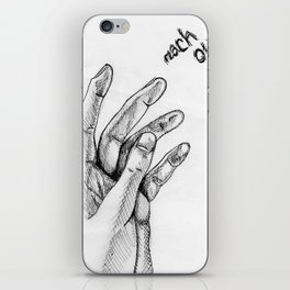 Reach Out iPhone Skin