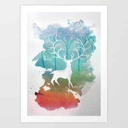 Release your dreams. Art Print