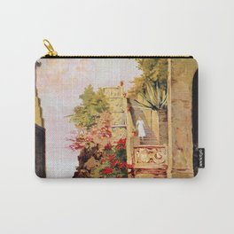 1920 Romantic Lenno Lake Como Carry-All Pouch