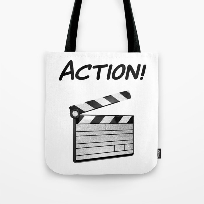 Action! Tote Bag
