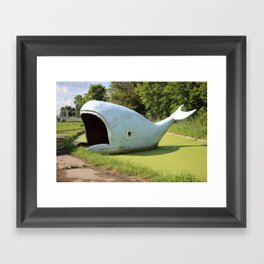 Willy the Whale Framed Art Print