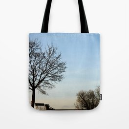 Chairs for Two Tote Bag