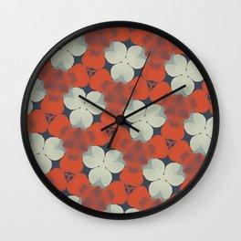 """ Autumn Leaves "" Wall Clock"