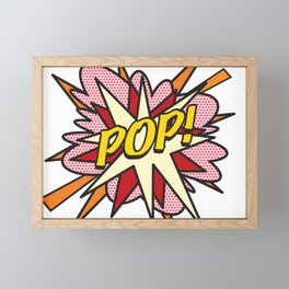 Comic Book Pop Art POP! Framed Mini Art Print