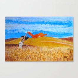 Field Frolic Canvas Print