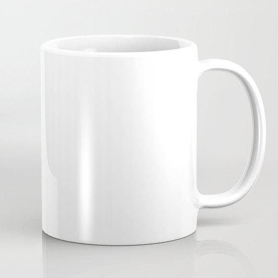 White Fuzz Feather Mug
