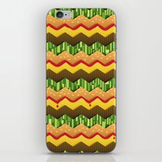 Cheeseburger Chevron iPhone & iPod Skin