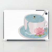 relax iPad Cases featuring Relax by Laura O'Connor