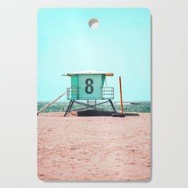 California Lifeguard Tower Cutting Board