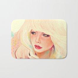 Meuf blonde Bath Mat