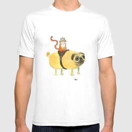 Commander Creamsicle T-shirt