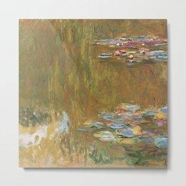 Water Lilies by Claude Monet Metal Print