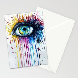 Color eyes Stationery Cards