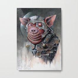 Space Pig #1 Metal Print