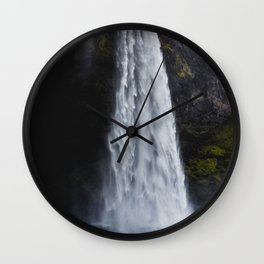 Seljalandsfoss Iceland Wall Clock
