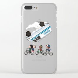 stranger tings Clear iPhone Case