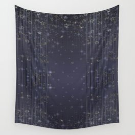 Gray abstract pattern , Christmas Wall Tapestry