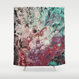 Soft Whispers of Garden Fairies Shower Curtain