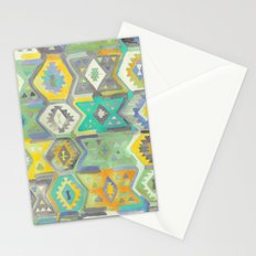 Kilim Me Softly in Turquoise Stationery Cards