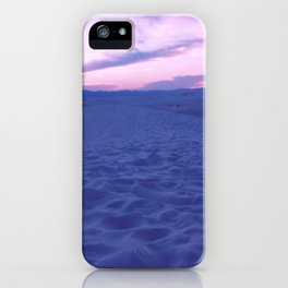 White Sands And Pink Sky iPhone Case