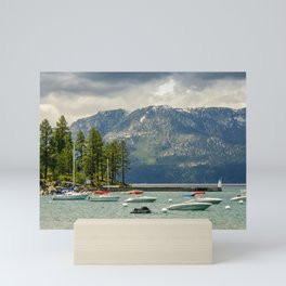 Lake Tahoe, California Mini Art Print