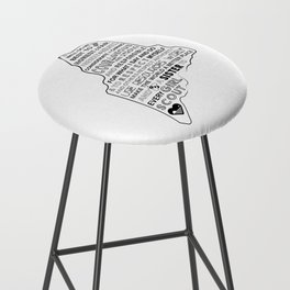 Girl Scout Law Bar Stool