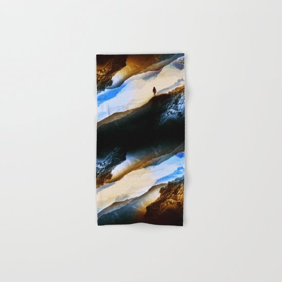 Vision of fire and ice Hand & Bath Towel
